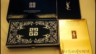 Fall 2014 Mini Haul: YSL Couture Palette Fetiche & Givenchy Palette Extravagancia Thumbnail