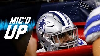 "Ezekiel Elliott Mic'd Up Week 15 ""Did You Just Jump in the Salvation Army Bucket?"" 
