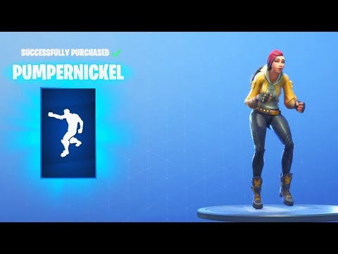 *NEW* PUMPERNICKEL EMOTE (Fortnite Item Shop August 7)