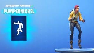 *NEW* PUMPERNICKEL EMOTE (Fortnite Item Shop August 7)