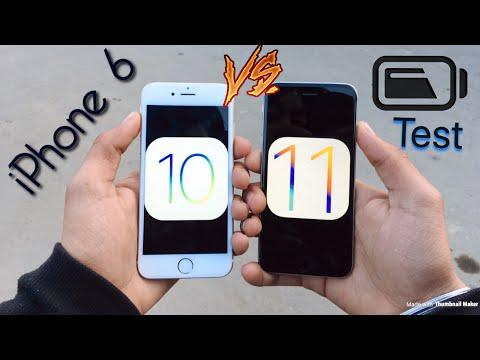 iPhone 6 Battery Comparison iOS 10 vs iOS 11.2