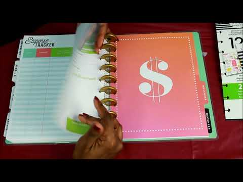 Happy Planner Budget 2019 Flip Through (New)