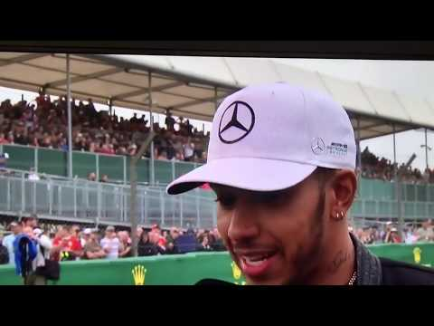 Lewis Hamilton F1 2017 British GP live reaction silverstone