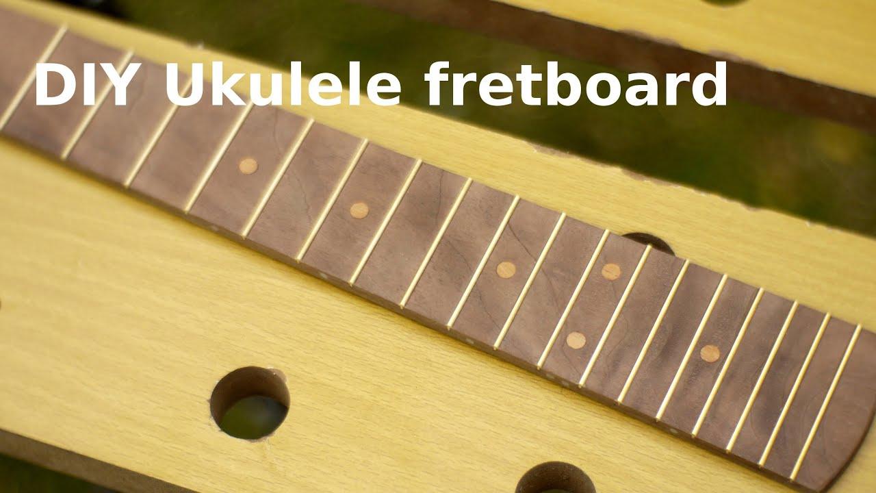 Making A Uke : diy ukulele making a fretboard youtube ~ Russianpoet.info Haus und Dekorationen