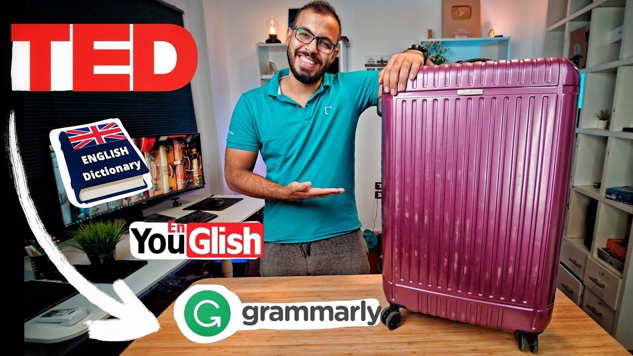 حقيبة تعلم اللغة الانجليزية!
