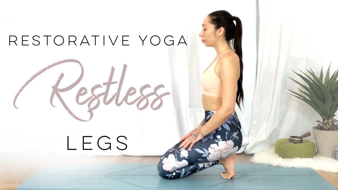 Restorative Yoga For Restless Legs   50 Days Of Yoga