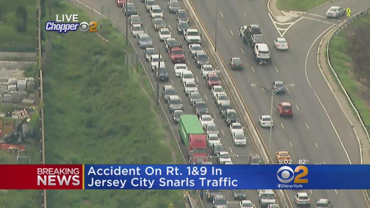 Accident Snarls Traffic On 1&9