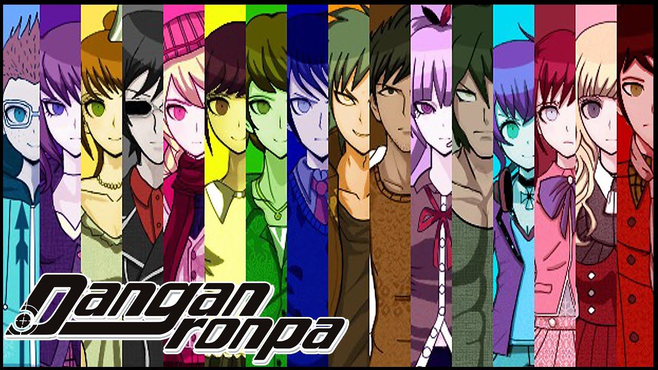 Danganronpa Ultra Despair Girls Cast Wallpaper Spoilers I Think Danganronpa 3 ダンガンロンパ New