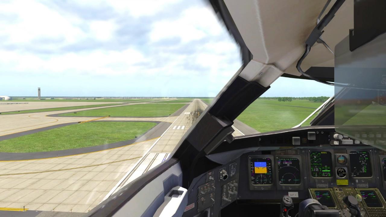 X-Plane 11 and JRollon CRJ-200