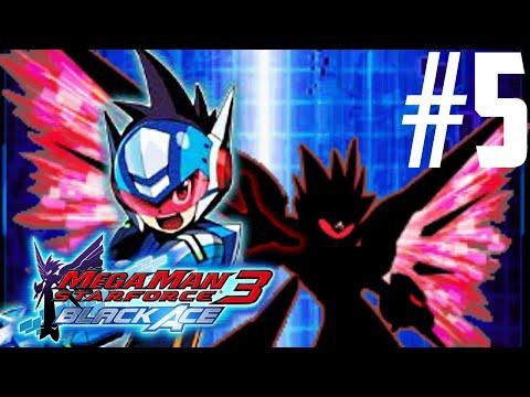 Mega Man Star Force 3: Black Ace Part 5 - Spica Mall [HD]