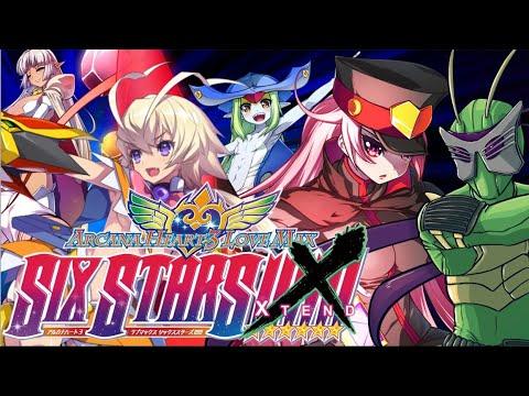 So...I tried the new update - Arcana Heart 3 LOVEMAX SIXSTARS!!!!!! XTEND |