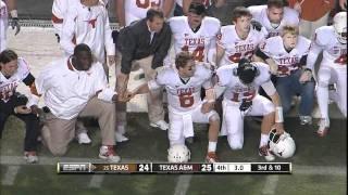 UT vs A&M 2011: The Kick