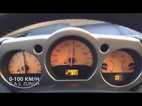 Nissan Murano 3.5 V6 0-100 km/h acceleration