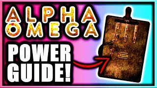 Alpha Omega How to Turn on Power Tutorial! Power Switch Location (Black Ops 4 Zombies DLC 3 Power)