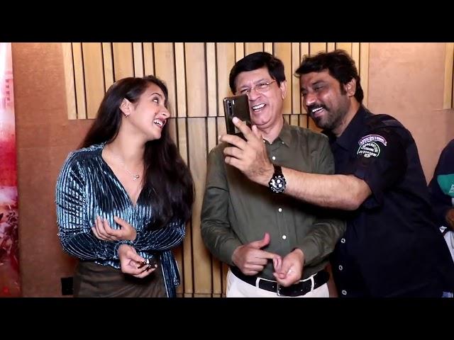 Kayamat se Kayamat Tak Bhojpuri Film Song Recording And Star Cast Interview in Mumbai