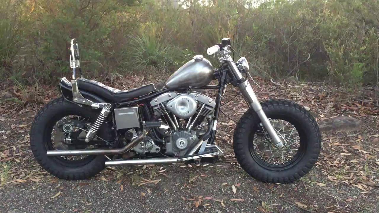 1980 Harley Shovelhead FXE