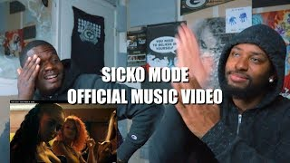 Travis Scott - SICKO MODE ft. Drake - REACTION