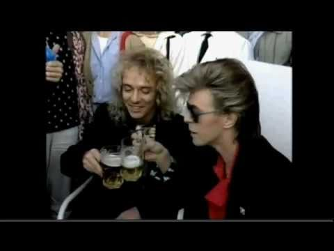 Peter Frampton and David Bowie Quest for a beer