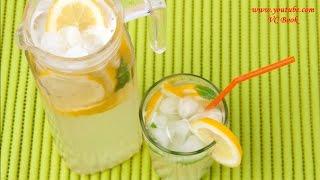 Имбирно лимонный напиток | Домашний лимонад