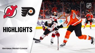 Devils @ Flyers 10/9/19 Highlights