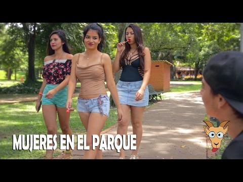 Sketch - MUJERES SEXYS ACOSADORAS EN EL PARQUE