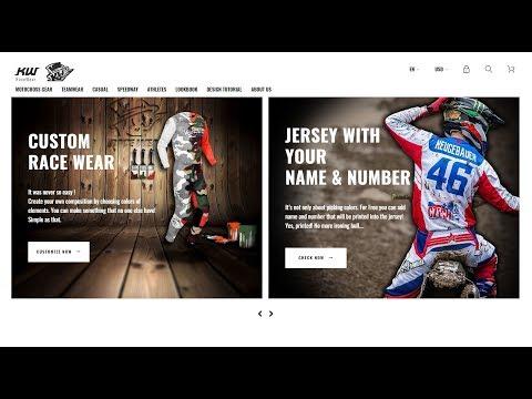 KW RaceWear - custom MX Gear tutorial thumbnail
