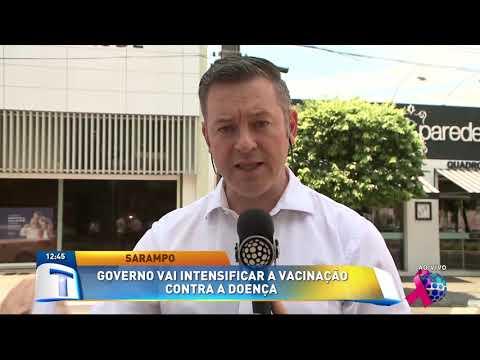 Governo Vai Intensificar A Vacinação Contra O Sarampo - Tribuna Da Massa (03/10/19)