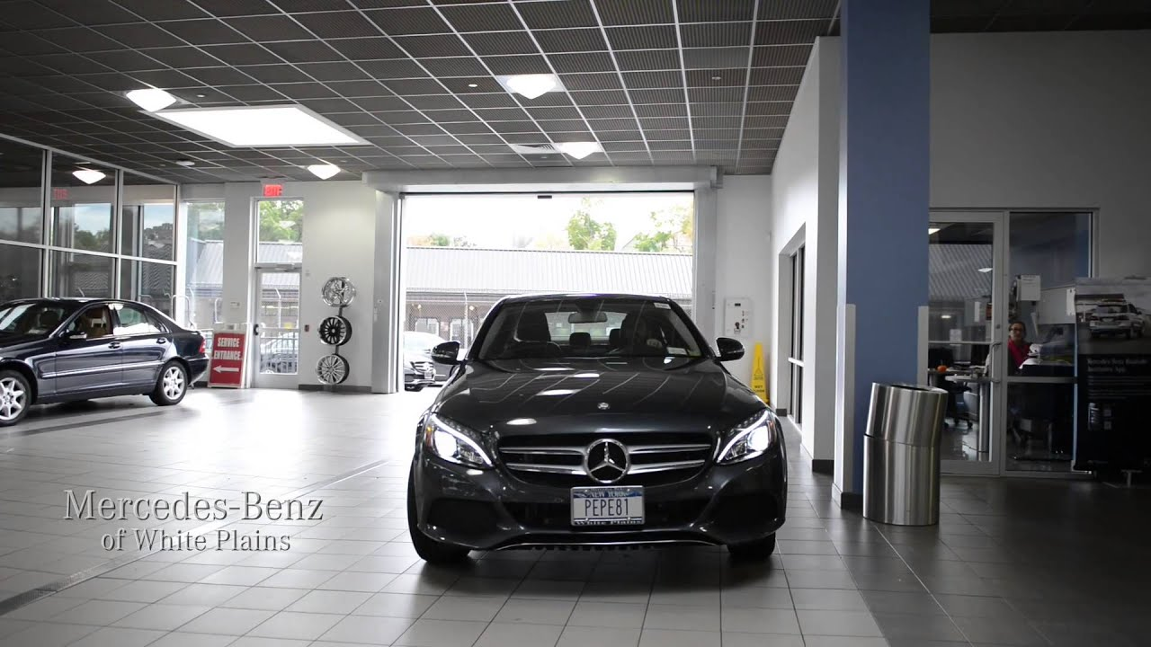 Mercedes benz of white plains at your service youtube for Mercedes benz of white plains