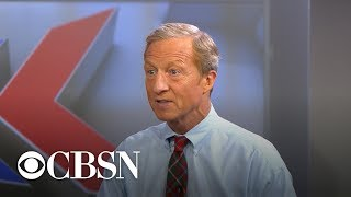 Tom Steyer weighs in on immigration, reparations and health care
