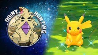 Pikachu shiny live reaction ! - Pokémon Let's GO Evoli / Pikachu !