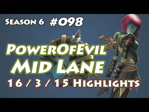 OG PowerOfEvil - Orianna vs Twisted Fate - EUW LOL SoloQ Highlights