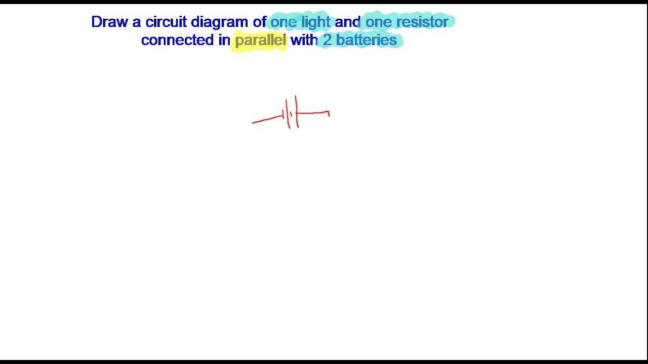 Drawing Circuit Diagrams 2 Youtube Create
