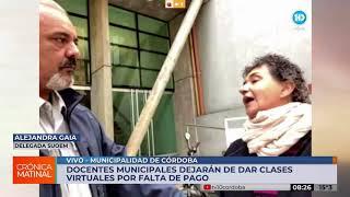 Doscientos docentes municipales no cobraron su salario