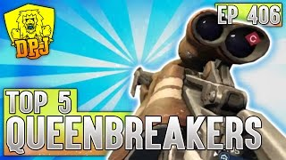 Destiny: Insane Queenbreaker FEED! Top 5 Queenbreakers Bow Plays - Episode 406