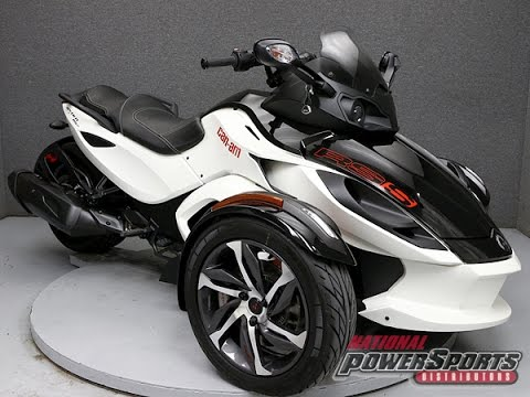 2014 CAN AM SPYDER RS-S SE5 - National Powersports Distributors ...