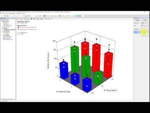 Battery Design Example In Design Expert (v. 11)