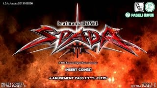 beatmania IIDX 21 SPADA - High Ranker Gameplay(sight-reading)