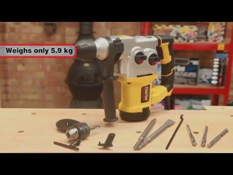 Clarke Contractor CON1500RHD SDS+ Rotary Hammer Drill