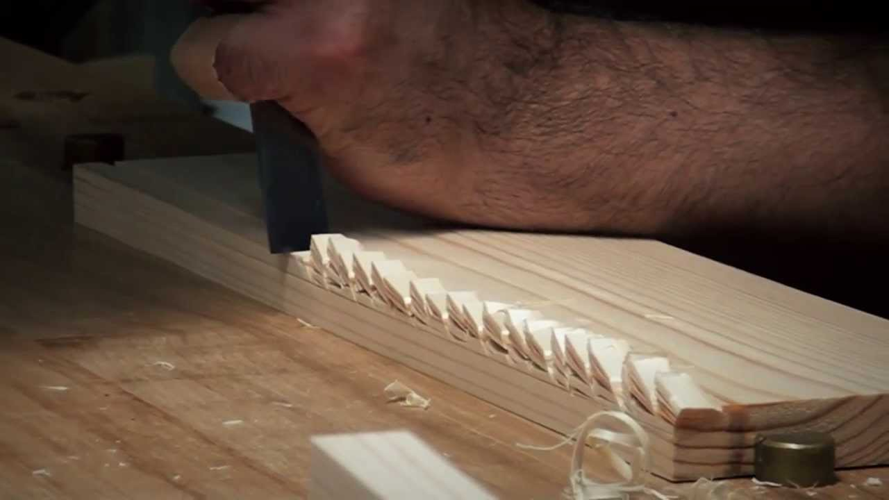 how to cut a rabbet joint by hand