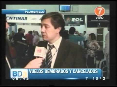 Por las cenizas del volcán Puyehue demoraron los vuelos desde Aeroparque a Mendoza