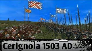 Italian Wars - Battle of Cerignola 1503 AD | Medieval 2 Total War