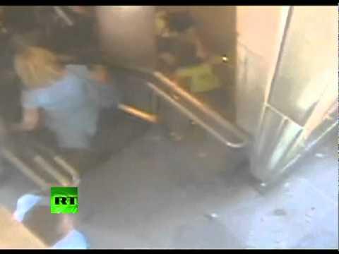 CCTV: Panic as DC quake shakes Washington monument