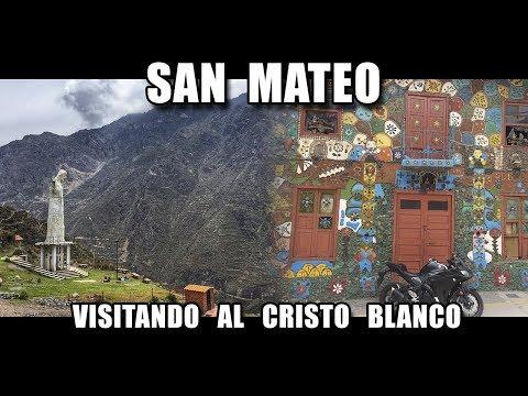 Visita al Cristo Blanco en San Mateo - Motovlog en español