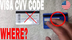 ✅  Where To Find Visa CVV Code 🔴