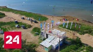 Конец пляжных самостроев: в Анапе начался снос нелегальных объектов - Россия 24