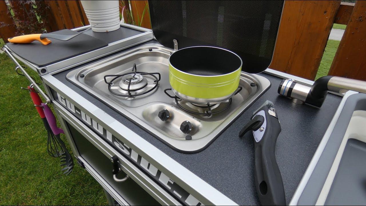 Outdoorküche Camping World : Kitchenbox camping und outdoor küche youtube