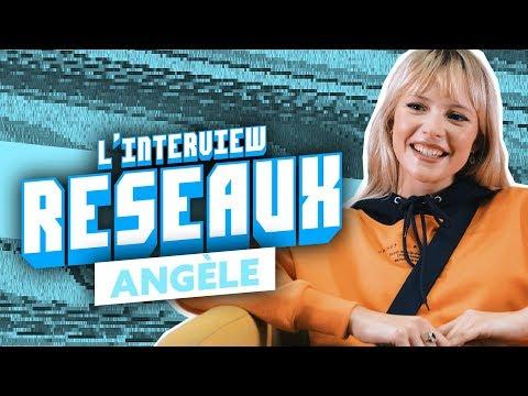 Youtube: Interview Réseaux Angèle: Top Boy tu binges? Squeezie tu cliques? Damso tu stream?