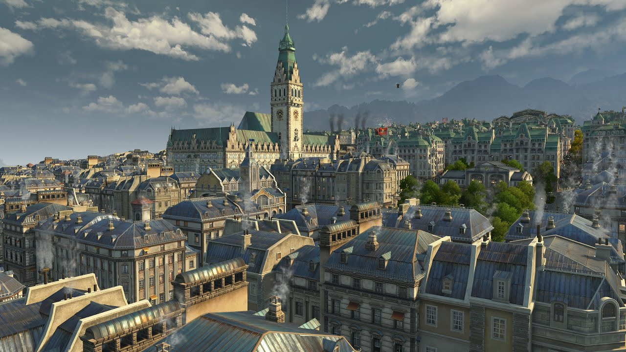 Anno 1800: Activation of roofs of the city & Update 12 today- all information