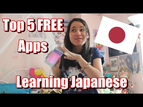 Top 5 FREE Apps To Learn Japanese ^_^