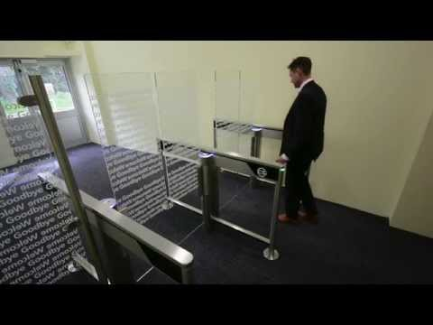 Swing Barrier Gate Turnstile Tall And Wide Barrier Gate